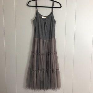 A'reve Anthropologie tulle dress